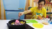 Готовим вместе Сезон-1 Леди Баг и Суперкот помогают готовить тартилью