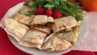 Irina Belaja Вторые блюда Вторые блюда - ВКУСНЫЕ ЛЕПЕШКИ К ОБЕДУ, ТУРЕЦКИЕ ГЁЗЛЕМЕ ТЕСТО ЮФКА _ Irina Belaja