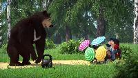 Маша и Медведь. Песенки Сезон-1 Песенка мушкетера