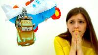 МАШИНКИ из мультика ТАЧКИ. Молния Маквин и Мэтр. #ToyClub - ищем игрушки