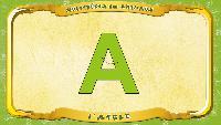 Мультипедия животных Французский алфавит Французский алфавит - La lettre A - l'Aigle