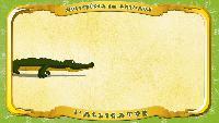 Мультипедия животных Французский алфавит Французский алфавит - La lettre A - l'Alligator