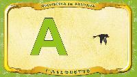 Мультипедия животных Французский алфавит Французский алфавит - La lettre A - l'Allouette
