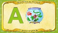 Мультипедия животных Французский алфавит Французский алфавит - La lettre A - l'Aquarium