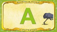 Мультипедия животных Французский алфавит Французский алфавит - La lettre A - l'Autruche