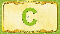 Мультипедия животных Французский алфавит Французский алфавит - La lettre C - le Caméléon