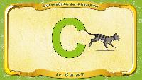 Мультипедия животных Французский алфавит Французский алфавит - La lettre C - le Chat