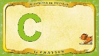 Мультипедия животных Французский алфавит Французский алфавит - La lettre C - le Chatoun