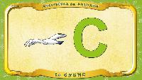 Мультипедия животных Французский алфавит Французский алфавит - La lettre C - le Cygne