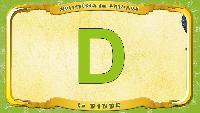 Мультипедия животных Французский алфавит Французский алфавит - La lettre D - la Dinde