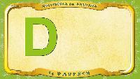 Мультипедия животных Французский алфавит Французский алфавит - La lettre D - le Dauphin