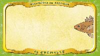 Мультипедия животных Французский алфавит Французский алфавит - La lettre G - la Grémille