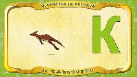 Мультипедия животных Французский алфавит Французский алфавит - La lettre K - le Kangourou