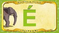 Мультипедия животных Французский алфавит Французский алфавит - La lettre É - l'Éléphant
