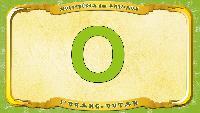 Мультипедия животных Французский алфавит Французский алфавит - La lettre O - l'Orang-outan