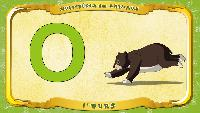 Мультипедия животных Французский алфавит Французский алфавит - La lettre O - l'Ours