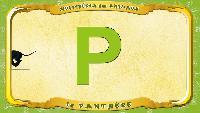 Мультипедия животных Французский алфавит Французский алфавит - La lettre P - la Panthère