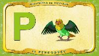 Мультипедия животных Французский алфавит Французский алфавит - La lettre P - le Perroquet