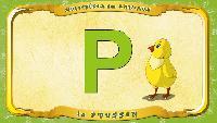 Мультипедия животных Французский алфавит Французский алфавит - La lettre P - le Poussin