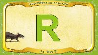 Мультипедия животных Французский алфавит Французский алфавит - La lettre R - le Rat