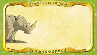 Мультипедия животных Французский алфавит Французский алфавит - La lettre R - le Rhinocéros