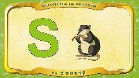 Мультипедия животных Французский алфавит Французский алфавит - La lettre S - la Souris