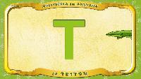 Мультипедия животных Французский алфавит Французский алфавит - La lettre T - le Triton