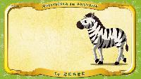 Мультипедия животных Французский алфавит Французский алфавит - La lettre Z - le Zèbre