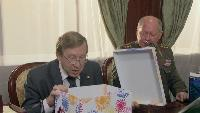 Одна за всех Президент Иванова 23 февраля