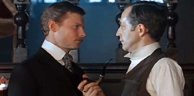 Смотреть Приключения Шерлока Холмса и доктора Ватсона онлайн