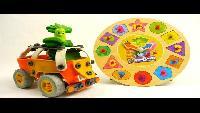 Развивающие мультфильмы с игрушками из мультика Фиксики - Фиксики Часы - учим цифры