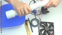 Roman Ursu Поделки своими руками Поделки своими руками - Как сделать мини кондиционер - увлажнитель своими руками