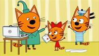 Три кота 1 сезон 8 серия. Игра в доктора