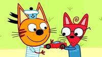 Три кота 3 сезон 128 серия. Машинка
