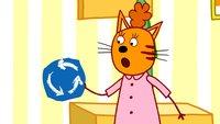 Три кота 3 сезон 136 серия. Дорожные знаки