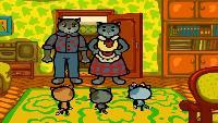 Три котёнка Сезон 3 Серия 1. В душе поют снежинки