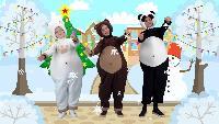 Три медведя Сезон-1 Снежинки