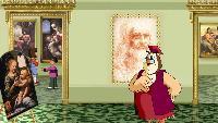 Уроки тетушки совы Всемирная картинная галерея Всемирная картинная галерея - Леонардо да Винчи