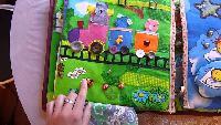 Видео обзоры игрушек - Книжка-игрушка